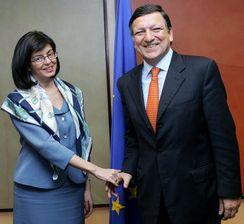 Председателят и еврокомисарят