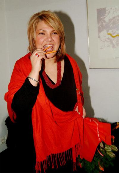Мартина Вачкова изхвърля широките дрехи