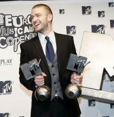 Джъстин Тимбърлейк грабна 2 награди на MTV Europe