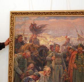 """Показват забранени """"хански"""" платна на Д.Гюдженов"""