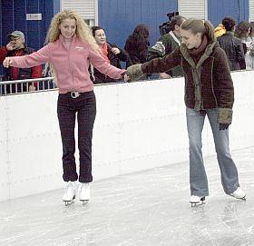 Откриха ледената пързалка до НДК