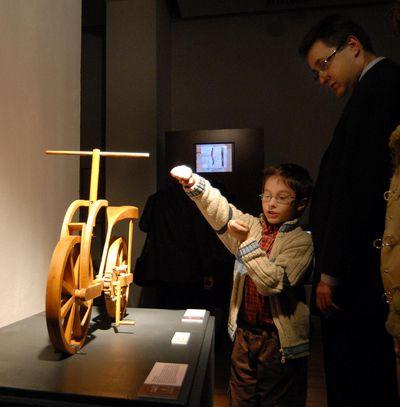 5 000 души посетиха изложбата с изобретенията на Леонардо