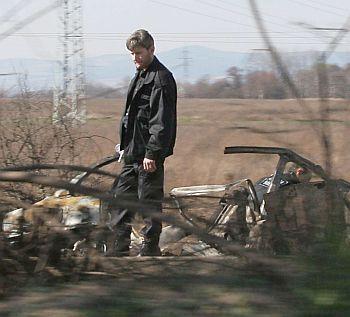 Шофьорът на гръмналото рено - бивш охранител на Маджо