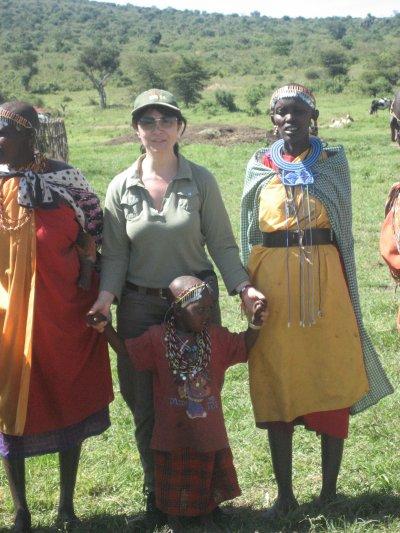 БГ журналистката Маргарита Ралчева доби тен в Африка