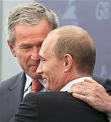 Мерят любовта към Путин и Буш