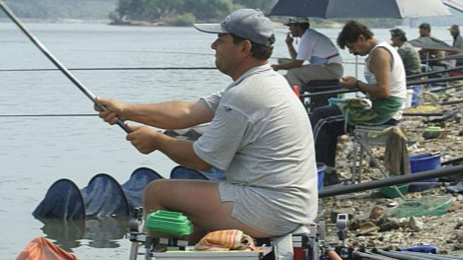 Забраната за риболов не важи за Дунавския парк
