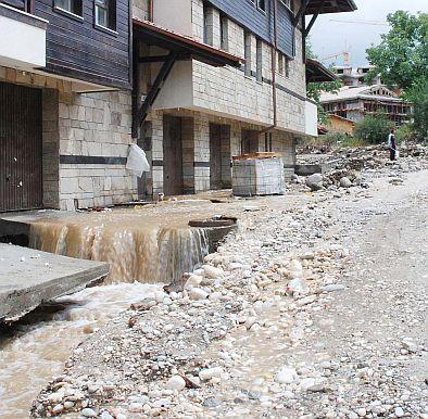 Мъртви пъстърви по улиците на Банско