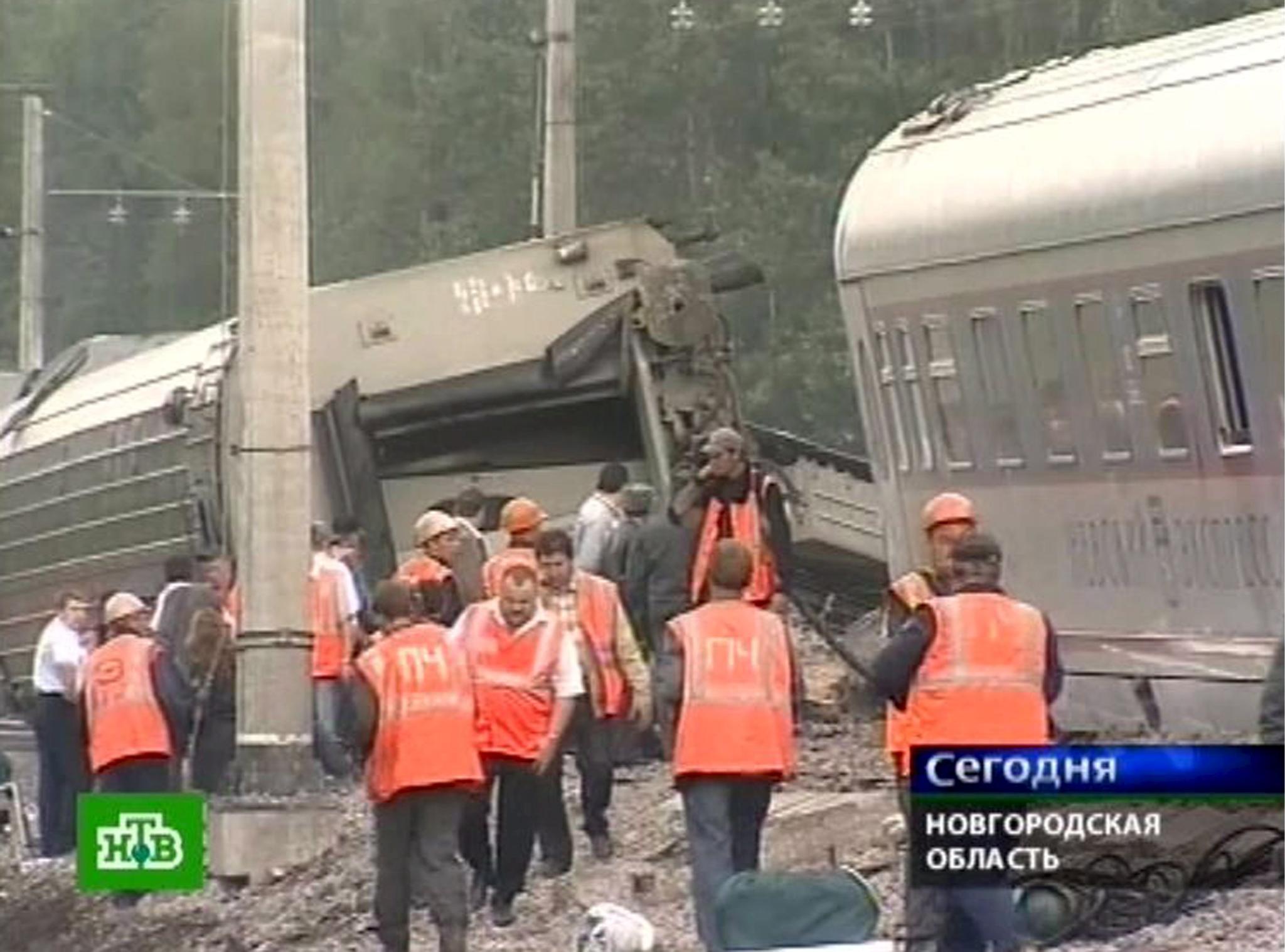 Взривиха експреса Москва-Питер - над 60 ранени, българин сред тях