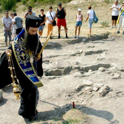 Молитва за жертвите на масово османско клане