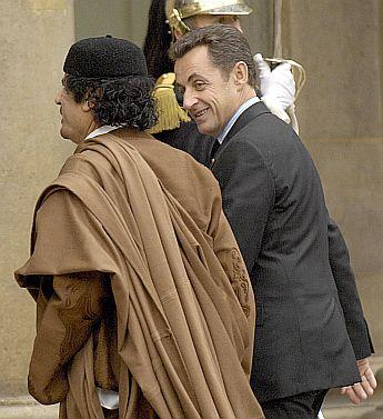 Кадафи разбуни Франция II