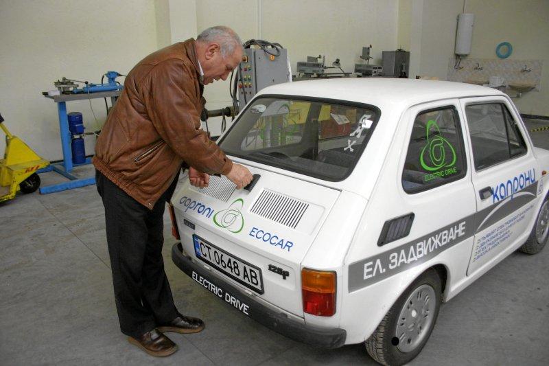 Първият БГ автомобил на ток у нас