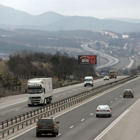 """Променя се движението по част от магистрала """"Тракия"""""""