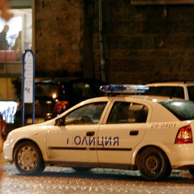 Полицейски екшън с виден автокрадец в София