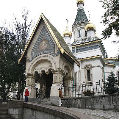 ВМРО призовава да не се строи до  Руската църква