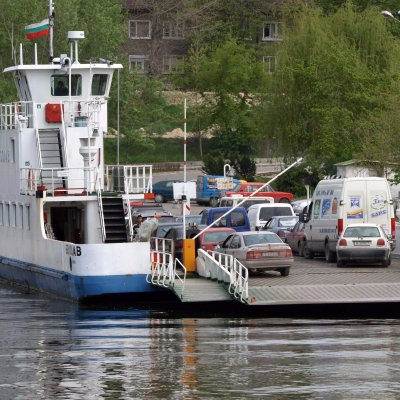 Пускат ферибота Никопол-Турну Мъгуреле