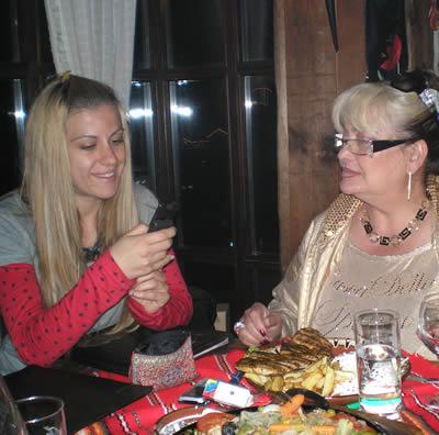 Приятелката на Слави Маги прекара празничните дни в Банско