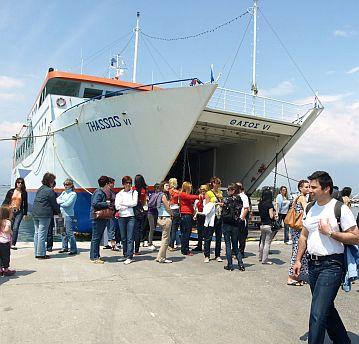 На ферибот в Гърция - о, не!