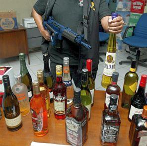 Бой за контрол над фабрика за алкохол