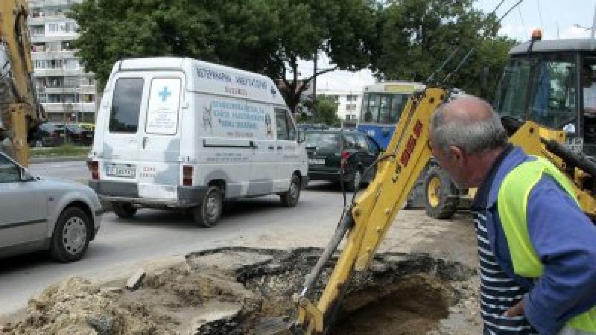 Без вода за ден в няколко квартала в София