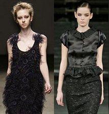Супер изискано черно е задължително в есенния гардероб