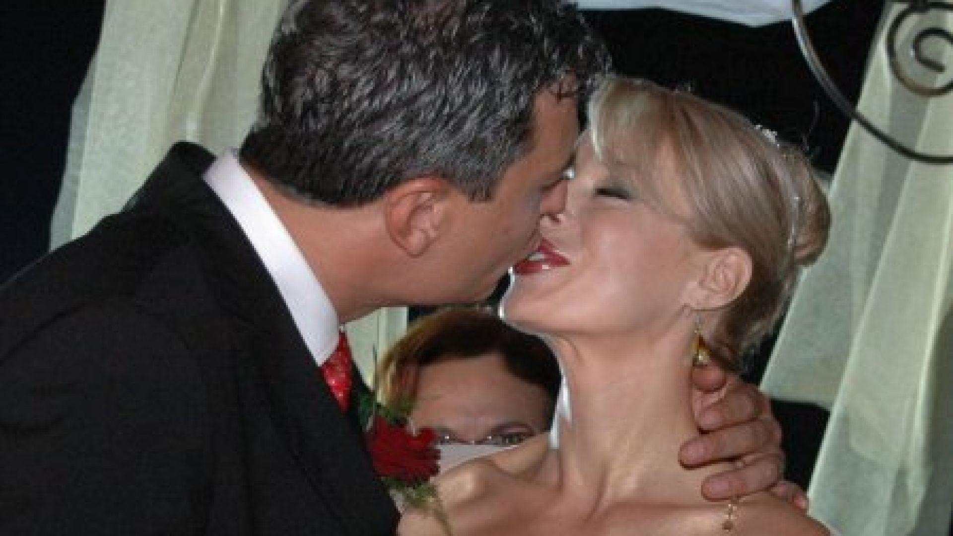 Мира и Жоро на сватбата им