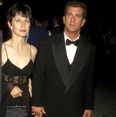 Мел Гибсън с бившата си съпруга Робин Мур