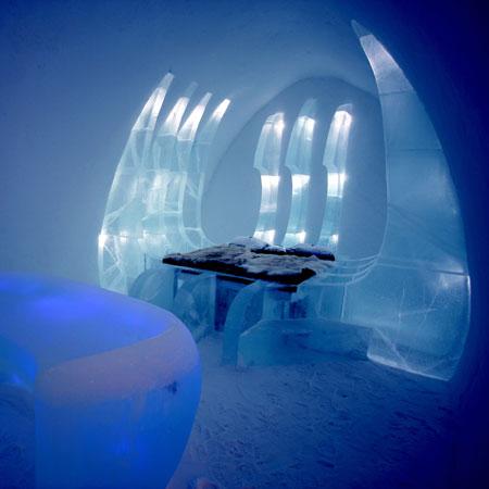 Леден хотел в Румъния