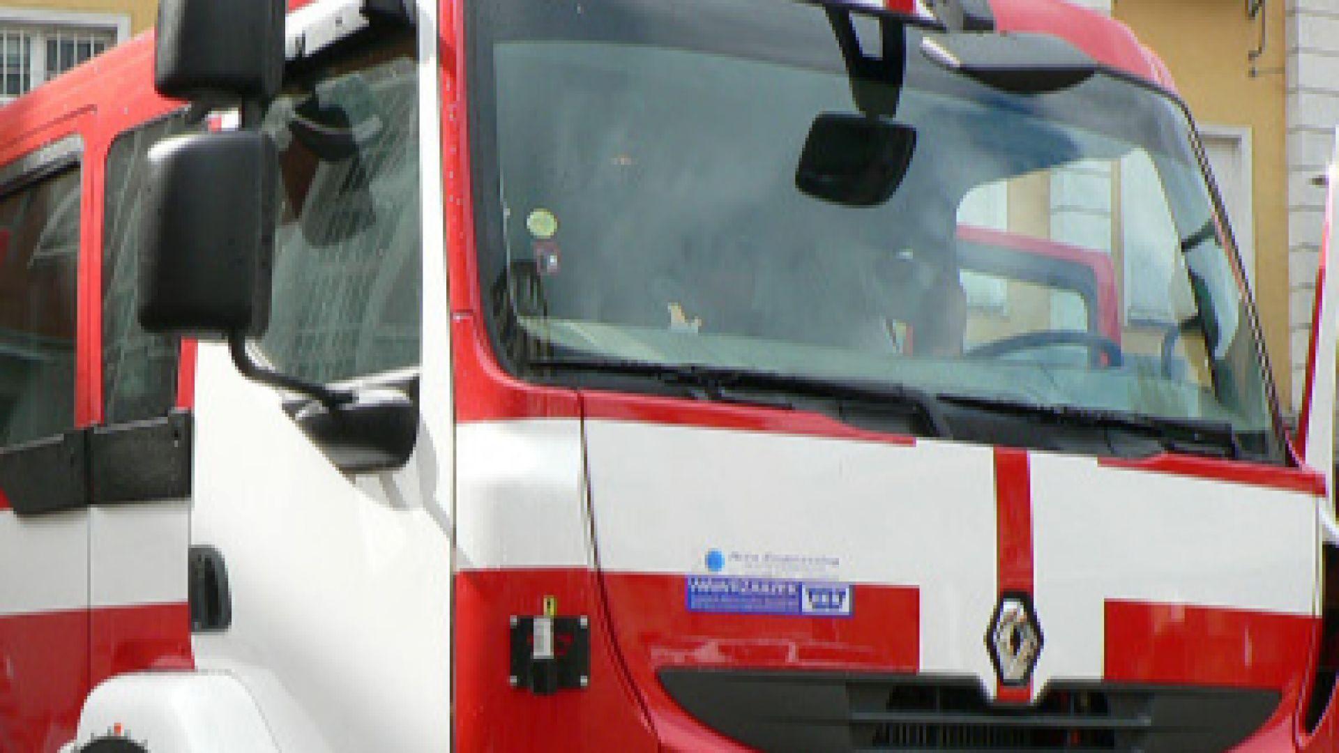 Пожар избухна в столицата. Подпалил се е покривът на жилищен
