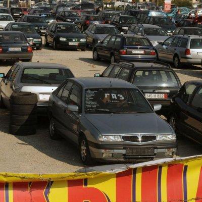 90% от колите в автоборсите у нас са катастрофирали