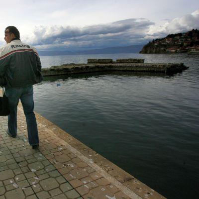 Българи в кораб потънал в Охридското езеро