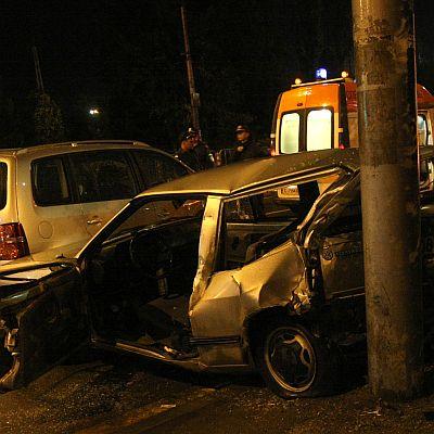 Майка и дете ранени, бащата шофирал пиян