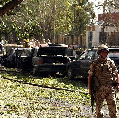 Кървав атентат пред щаба на ИСАФ в Кабул