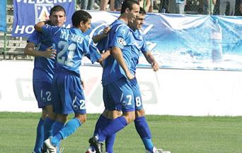 Левски взе трите точки от Миньор след спорна дузпа