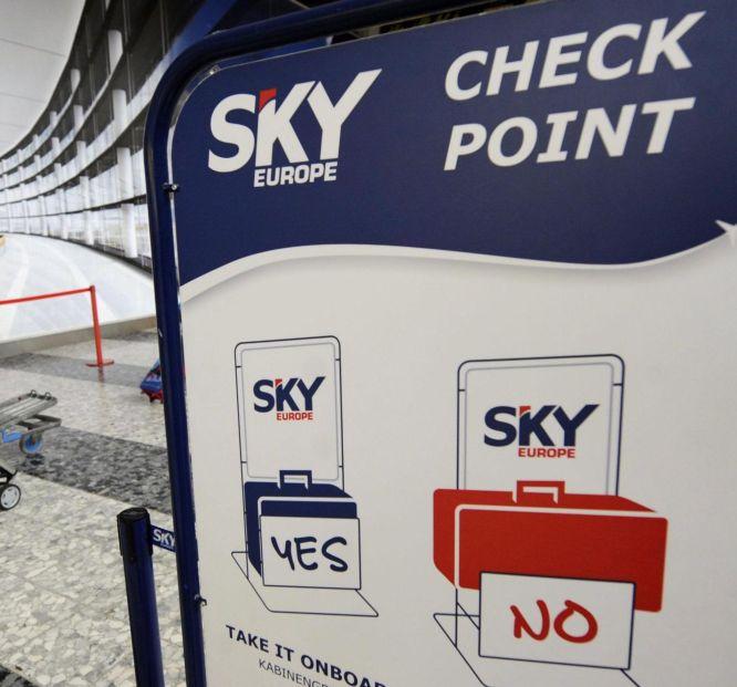 Битка за клиентите на Sky Europe