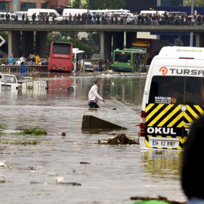 Невиждано бедствие в Истанбул