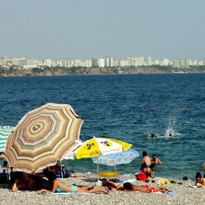 Турските курорти не са наводнени