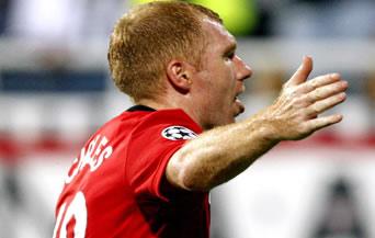 Скоулс донесе така важната победа за Юнайтед