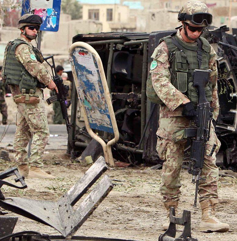 Много загинали в атентат срещу Италия в Кабул