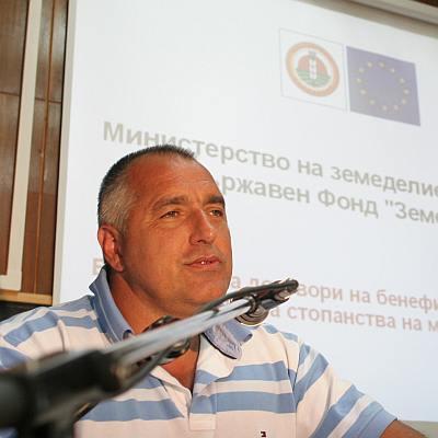 Борисов възражда земеделието