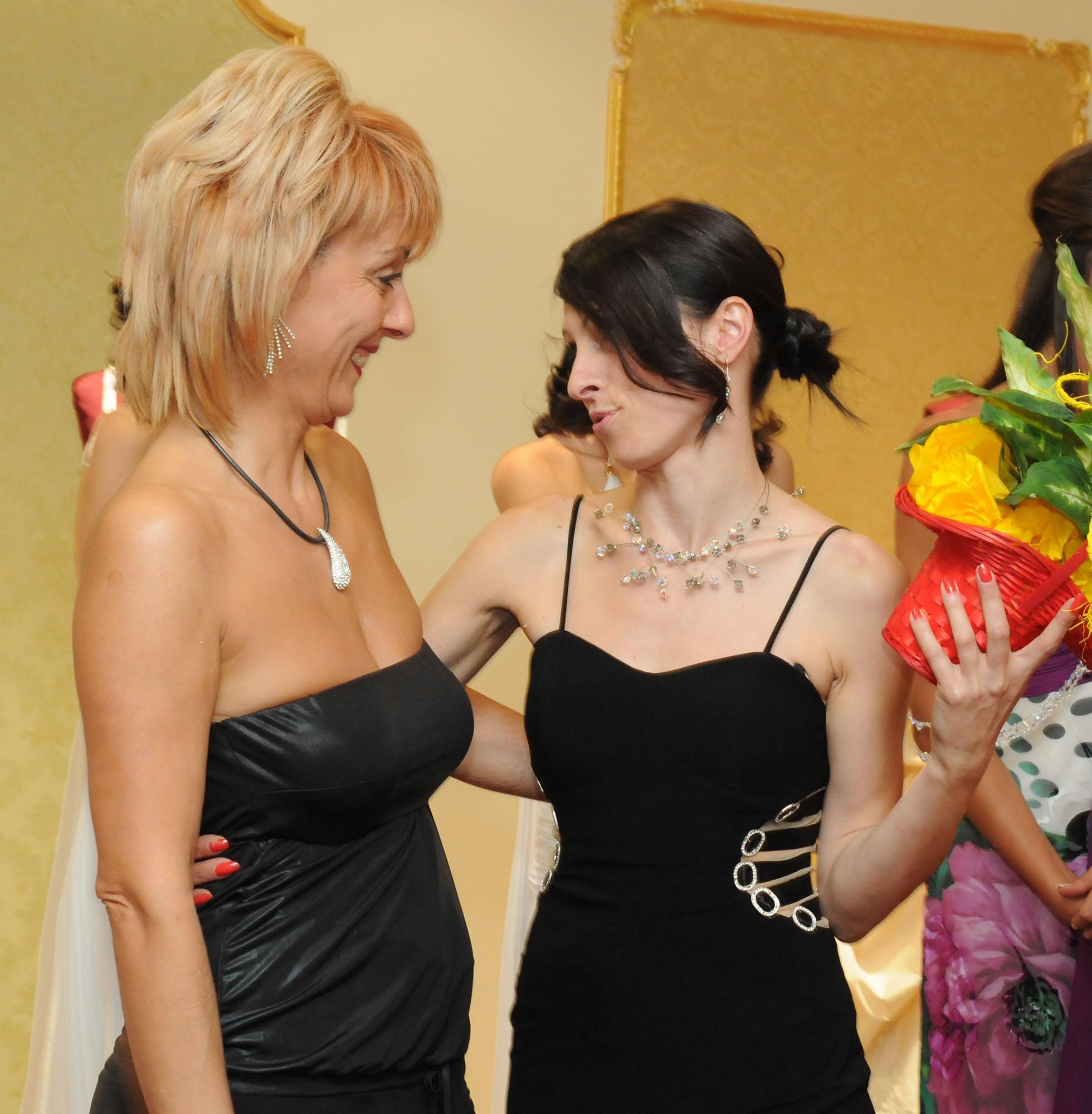 Маргарита Бербатова се появи на модно ревю