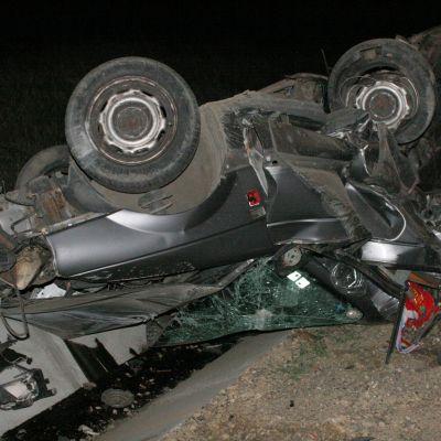 Трима загинаха в катастрофа след удар в дърво