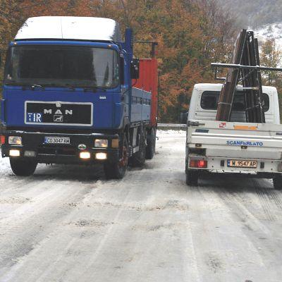 """Сняг покри """"Петрохан"""", време е за вериги"""