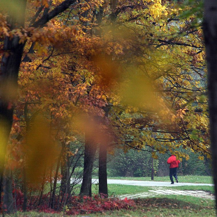 Есента дойде с топло време