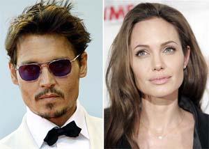 Анджелина Джоли и Джони Деп най-сетне заедно на екран