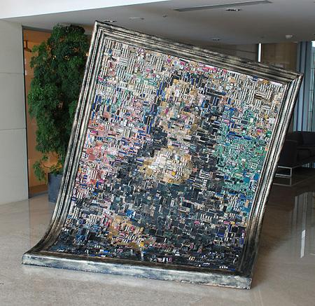 Мона Лиза от дънни платки