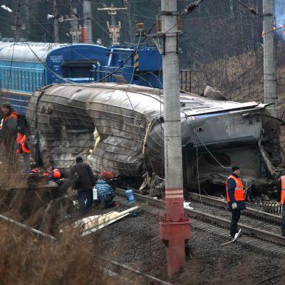 Нов атентат на жп линия в Санкт Петербург