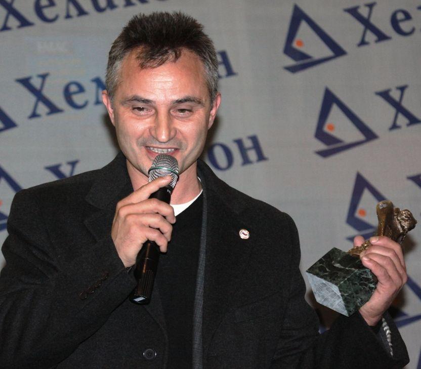 """Захари Карабашлиев спечели наградата """"Хеликон"""" 2009"""