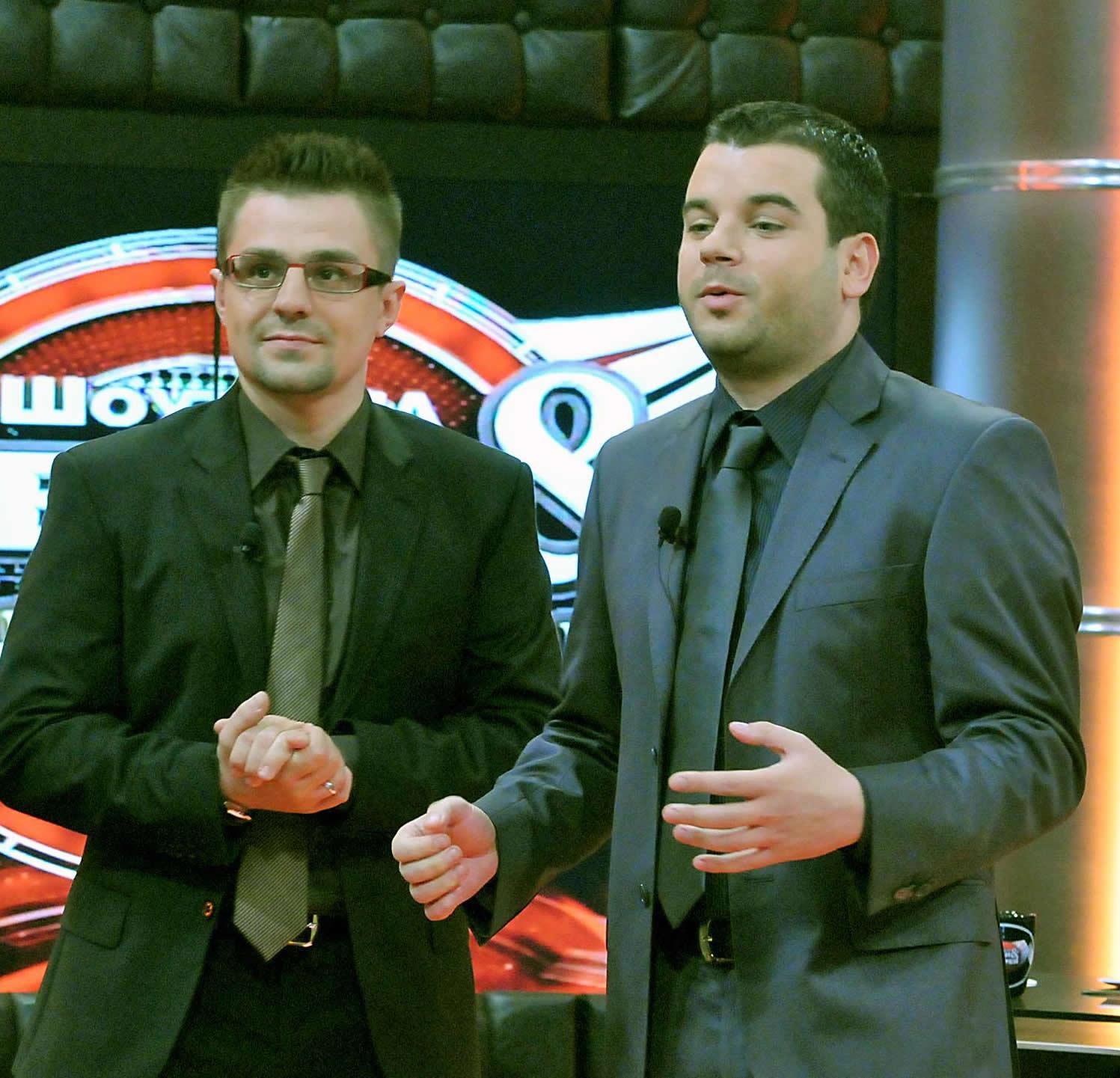 Иван и Андрей стартираха вечерното си шоу