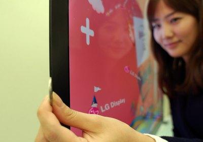 Най-тънкият LCD TV панел е само 2,6 мм