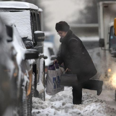 Снежен рекорд в Москва, хаос по пътищата в Италия